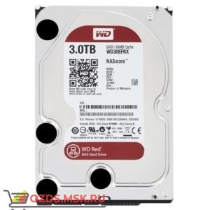 Western Digital WD30EFRX HDD 3Tb: Жесткий диск