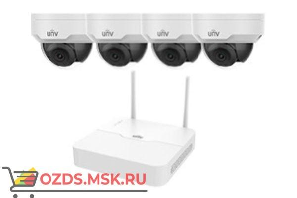 UNIVIEW KIT/NVR301-04LB-W/4х322SR3-VSF28W-D Wi-Fi —: Комплект видеонаблюдения