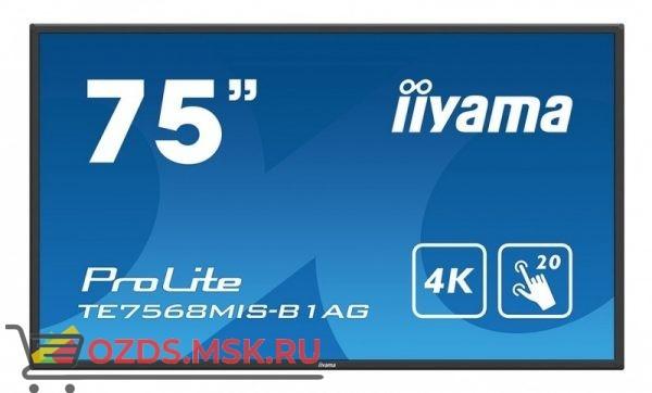 Iiyama TE7568MIS-B1AG: Интерактивная панель