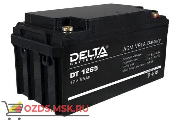 Delta DT 1265 Аккумулятор