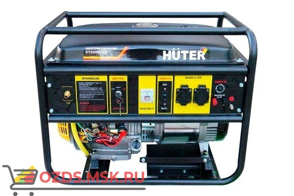 Huter DY6500LXG Электрогенератор