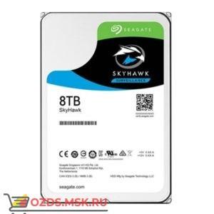 SEAGATE Skyhawk ST8000VX0022, 8Тб, HDD, SATA III, 3.5″: Жесткий диск