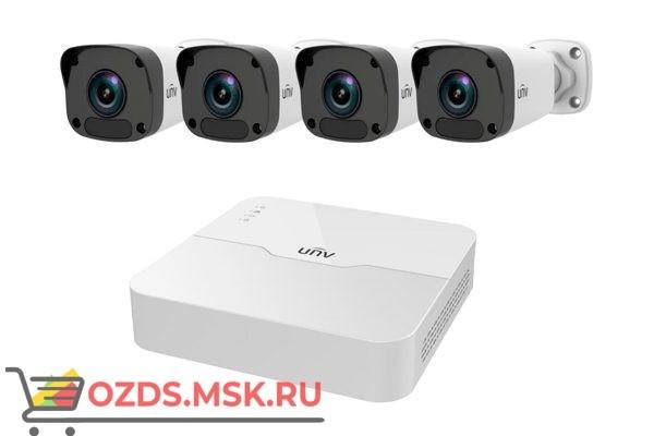 UNIVIEW KIT/301-04LB-P4/4х2122LR3-PF40-D: Комплект видеонаблюдения