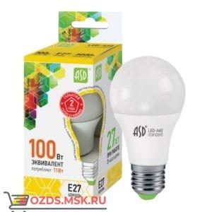 ASD LED-A60 11Вт Е27 3000К  990Лм: Лампа