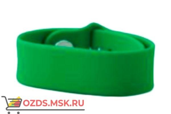 Силиконовый браслет с RFID-меткой Em-Marine (зеленый)