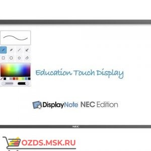 NEC E651-T: Интерактивная панель