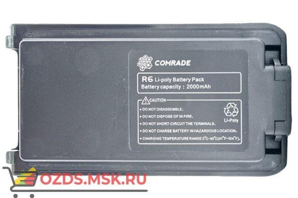 Comrade R6АКБ Тип  Li-Pol Ёмкость 2000 мАч