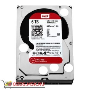 Western Digital WD60EFRX HDD 6TB: Жесткий диск