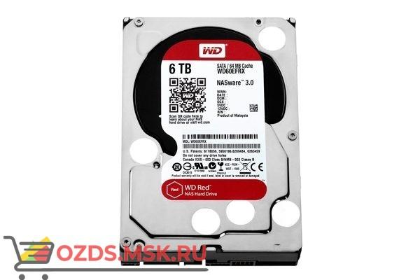 Western Digital WD60EFRX HDD 6TB: Жесткий диск