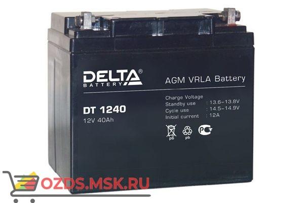 Delta DT 1240: Аккумулятор
