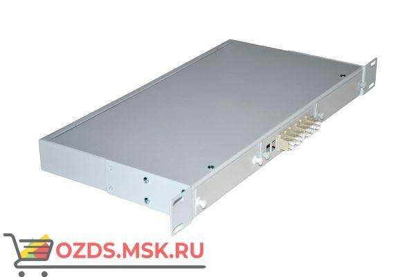 NTSS-RFOB-1U-6-2LC/U-50-S duplex 19″: Кросс предсобранный
