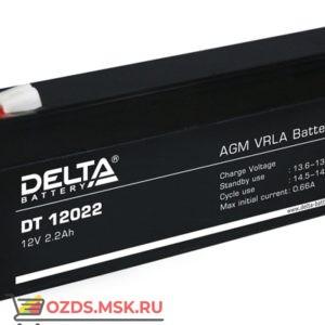 Delta DT 12022 Аккумулятор