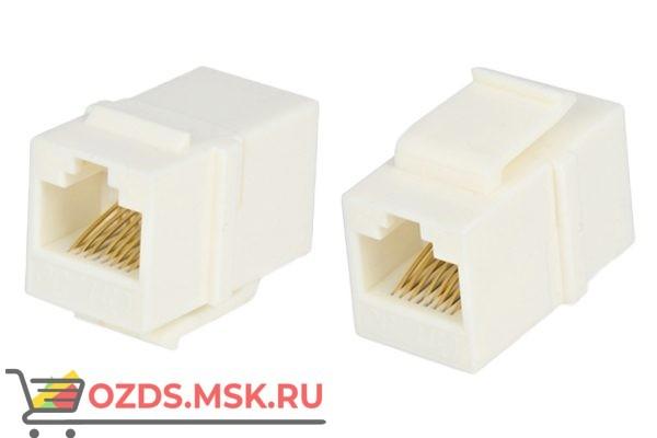 Hyperline CA2-KJ-C5e-WH Проходной адаптер