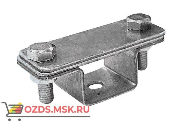 EZETEK 90026 Держатель проводника круглого 6-8 мм для черепичной кровли серый, оцинк.