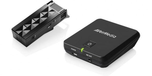 Цифровой беспроводной микрофон AverMedia AW313 с ресивером AVerVision