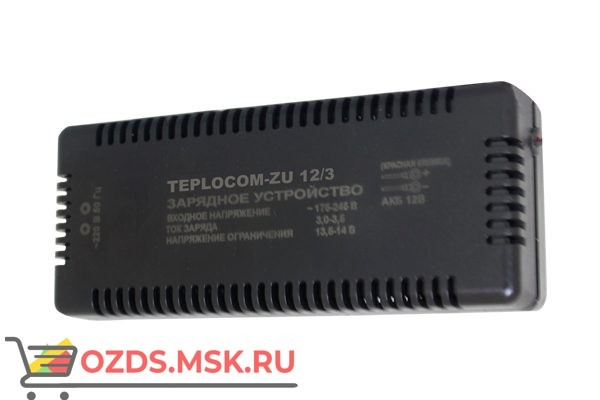 Бастион TEPLOCOM-ZU 12/3: Зарядное устройство