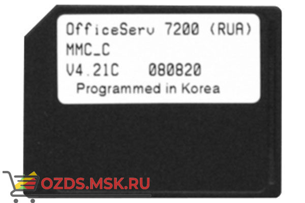 Samsung OS7200WSDSTD Флеш карта