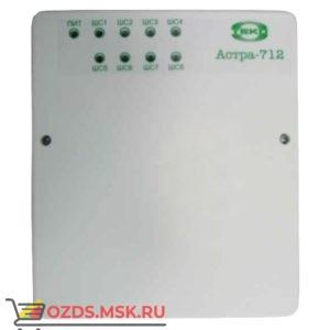 Астра-712/8 Прибор приемно-контрольный охранно-пожарный, 8 ШС, ИП