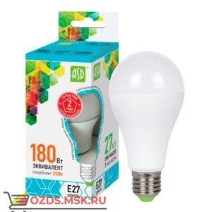 ASD LED-A60 20Вт Е27 4000К 1800Лм: Лампа