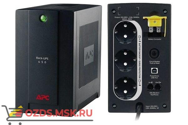 APC BX650CI-RS ИБП