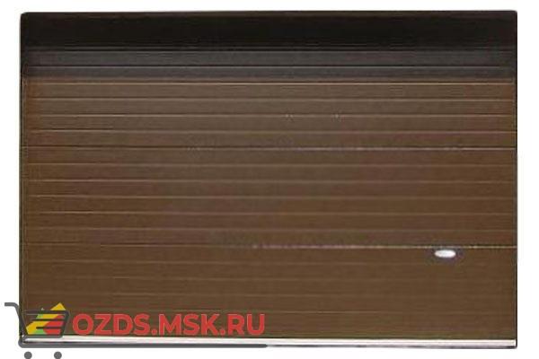 Алютех Standart RAL 8014 2500х2500: Секционные ворота