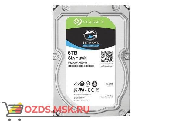 SEAGATE Skyhawk ST6000VX0023, 6Тб, HDD, SATA III, 3.5″: Жесткий диск