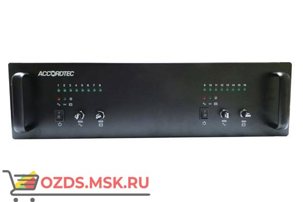 AccordTec ББП-80х2 v.16 RACK 3U Блок питания