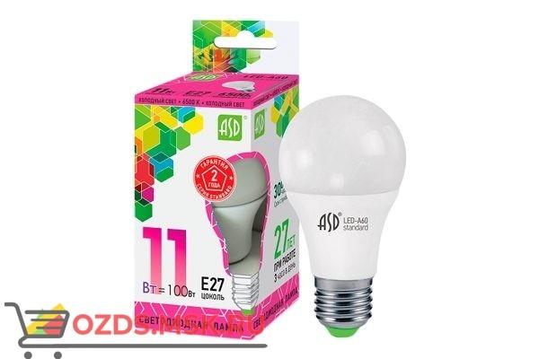 ASD LED-A60 11Вт Е27 4000К  990Лм: Лампа