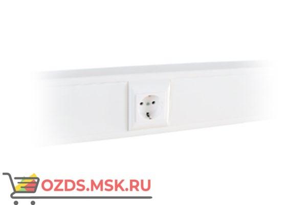 Суппорт с рамкой 1 пост (45х45) на профиль для кабель-канала 100х50 100012S 10шт/уп SPL