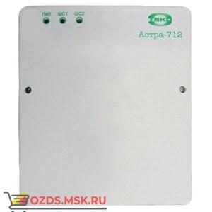 Астра-712/2 Прибор приемно-контрольный охранно-пожарный, 2 ШС, ИП