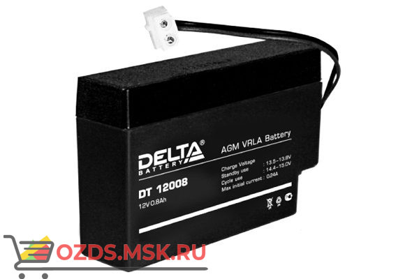 Delta DT 12008 Аккумулятор