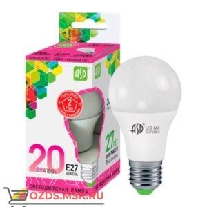 ASD LED-A60 20Вт Е27 6500К 1800Лм: Лампа
