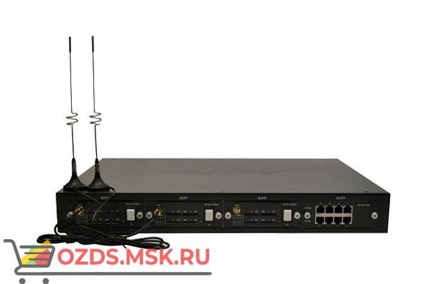 AP-GS2500, базовое шасси с портами 2x10/100Mbps Ethernet (SIP & H.323), 4 слота, расширение до 16 GS