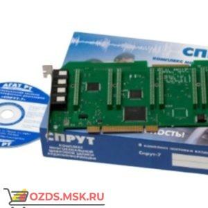 СПРУТ-7/А-9 PCI: Система записи телефонных разговоров