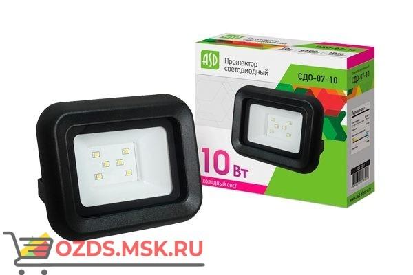 ASD СДО-07-10 прожектор LED 10Вт 6500К 750Лм IP65