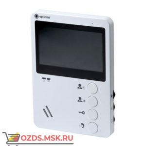 Optimus VM-E4 (white): Видеодомофон