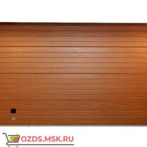 Алютех 4420×2370 TREND RAL 8014: Ворота секционные