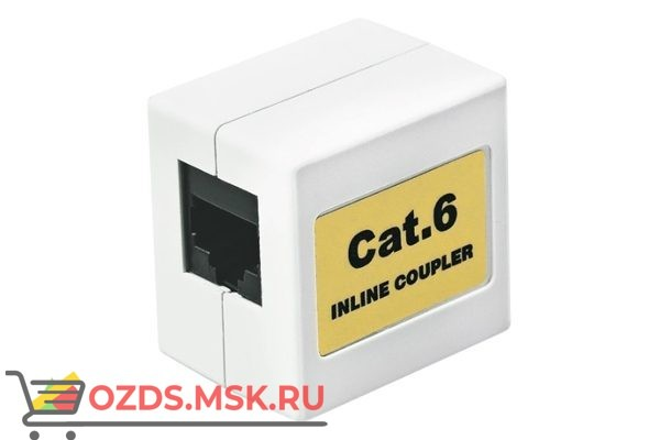 Hyperline CA-8P8C-C6-WH Проходной адаптер
