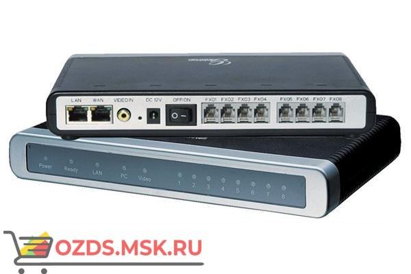 Grandstream GXW 4108 - VoIP шлюз, 8 FXO