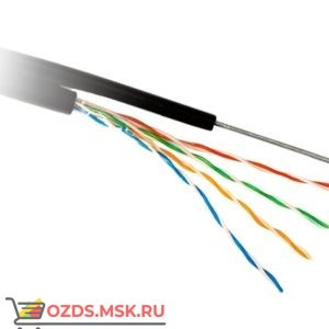 Hyperline UUTP4-C5E-S24-2SW-OUT-PE-BK: Кабель