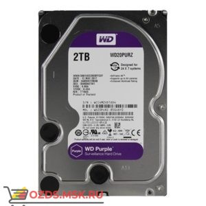 Western Digital WD20PURZ HDD 2TB: Жесткий диск