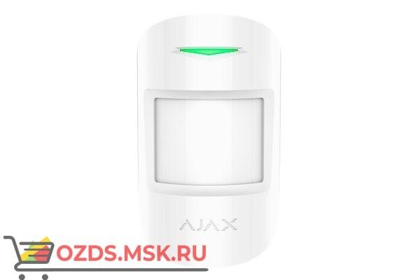Ajax MotionProtect (white) Датчик движения с иммунитетом к животным