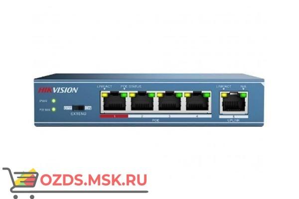 Hikvision DS-3E0105P-E PОЕ-коммутатор