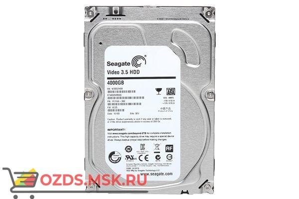 SEAGATE Skyhawk ST4000VX007, 4Тб, HDD, SATA III, 3.5″: Жесткий диск