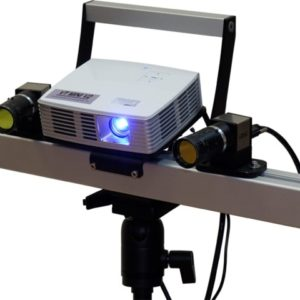 VT MINI V2: 3D сканер с поворотным столом