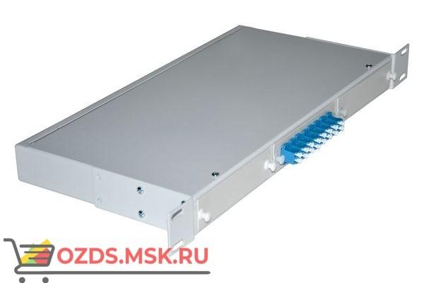NTSS-RFOB-1U-8-2LC/U-9-SP 19″: Кросс предсобранный