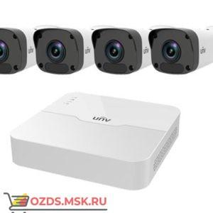 UNIVIEW KIT/301-08LB-P8/4х2122LR3-PF40M-D: Комплект видеонаблюдения