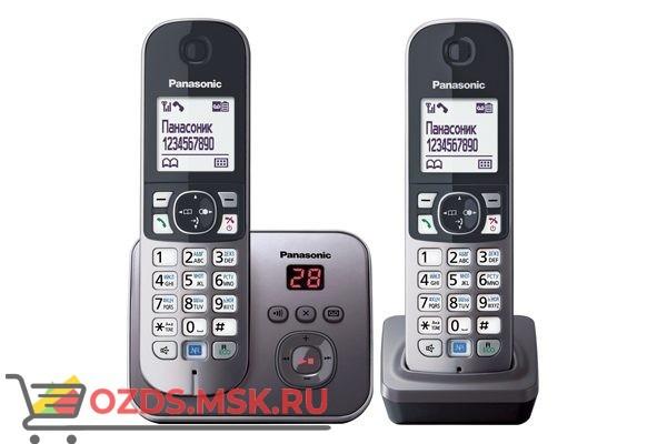 Panasonic KX-TG6822RUM: Радиотелефон