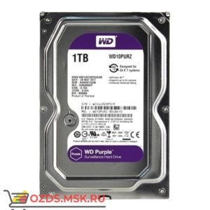 Western Digital WD10PURZ HDD 1TB: Жесткий диск