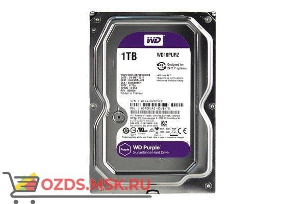 Western Digital WD10PURZ HDD 1TB: Жесткий диск